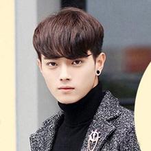 男生留什么齐刘海好看 冬季暖男短发