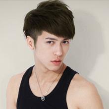 秋冬季韩国男生短发图片 冬日就要暖男范儿