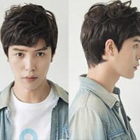 酷酷的男生韩式假发 清爽阳光男生发型