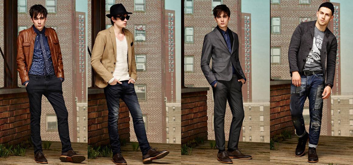BOSS Orange品牌男装 2016年早春休闲风格搭配造型