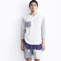 国内品牌UNCUT  2015春夏季简单层次男装型录