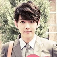 韩国小鲜肉男生的发型与脸型搭配
