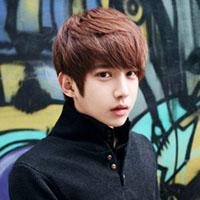 韩式男生流行发色与发型搭配