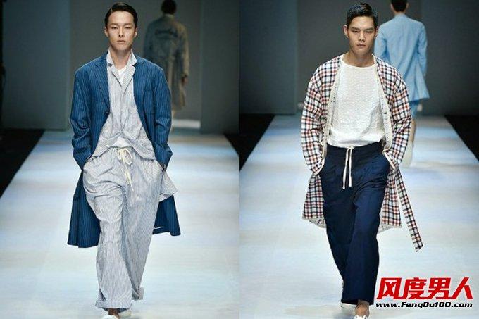 韩国品牌ROLIAT 2015春夏男装秀场造型