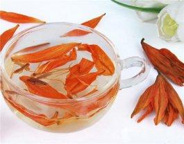百合花茶的功效与作用 百合花茶怎么搭配