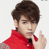 最新男生韩式短发烫发发型明星范儿