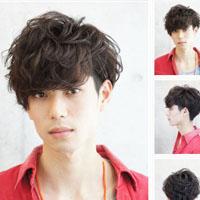 最新潮流韩式男生短发头型英俊帅气