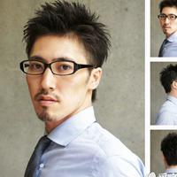 白领男士短发发型 男人帅气短发让女人着迷