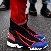 2016米兰时装周街拍潮人穿的鞋子