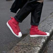 2016秋冬伦敦时装周潮人上脚鞋款街拍