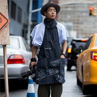 2016春夏季NYFW纽约时装周场外潮男街拍