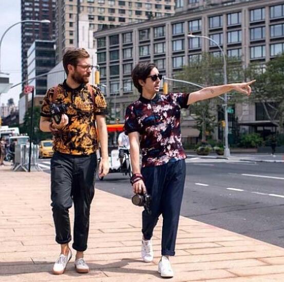男装博客的博主最新搭配街拍