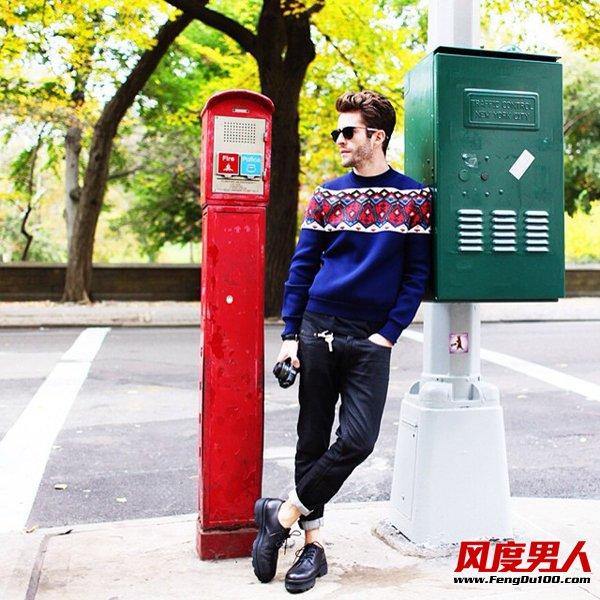 欧美型男穿衣经 潮男属于自己的Style
