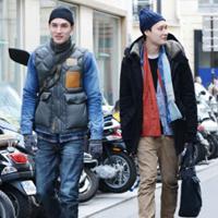 巴黎时装周场外抓拍第四季