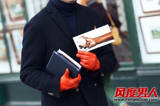 巴黎时装周场外抓拍潮男搭配第二季