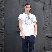 夏季潮模Sen纽约街拍简约男装搭