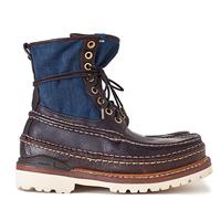 visvim秋冬最新硬朗的轮廓靴款