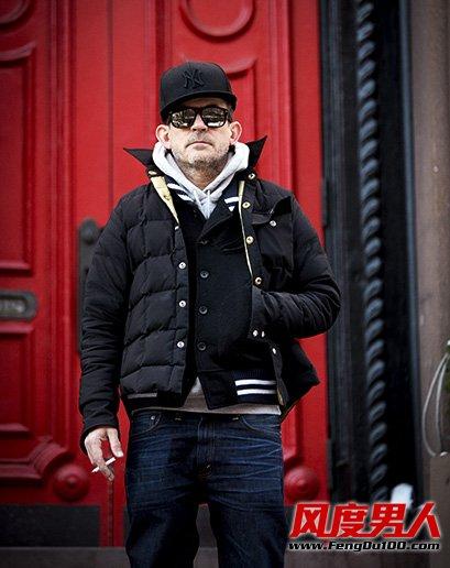 纽约冬季街拍第三季 美式街头型男