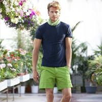 欧洲男人秀夏季短裤搭配造型