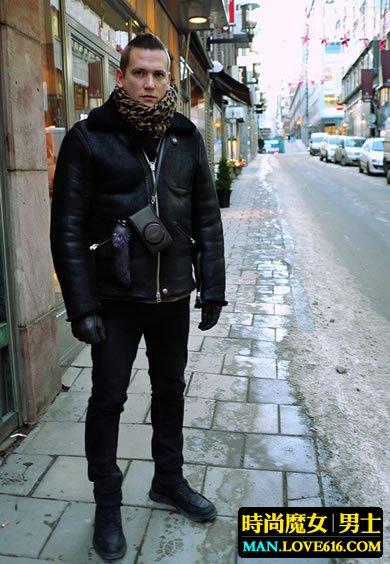 冬季男人穿衣搭配 简洁有型