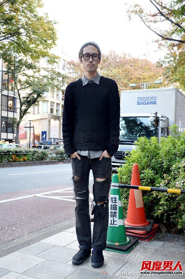 日本潮男2015春季最新街拍