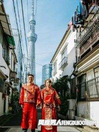 情侣19万日元日本拍婚纱照很雷人