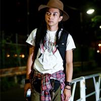 夏季街拍日本潮男个性混搭穿法