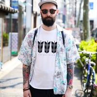 夏季原宿纹身潮男搭配街拍