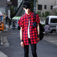 原宿18岁学生的潮流男装搭配街拍