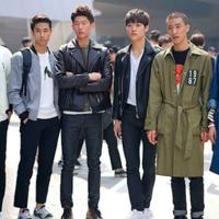 首尔时装周街拍Style 韩流春季舒适的服饰配搭
