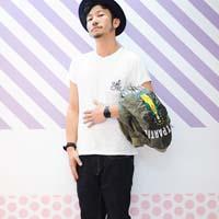 38岁日本潮男街拍 夏季涩谷街拍图片
