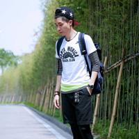 22岁潮男设计师换季街头服装搭配