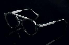 潮男眼镜混合复古及现代设计