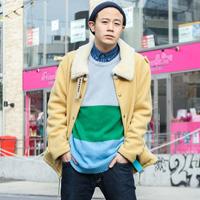 原宿26岁时尚博主最新型男搭配街拍
