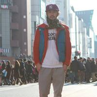 2014原宿最新潮男街拍 30岁左右潮男搭配