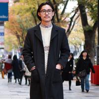 冬天日本原宿潮男出街服装搭配