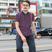 2013夏季日本原宿潮男街拍 30岁男人搭配更有味