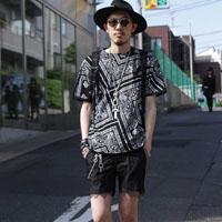日本潮男夏季街拍细节 不同职业潮男搭配