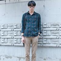 男士韩式服装搭配 韩国男生夏装搭配街拍