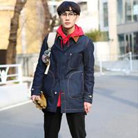 日本原宿街拍 日本冬季街拍潮男搭配