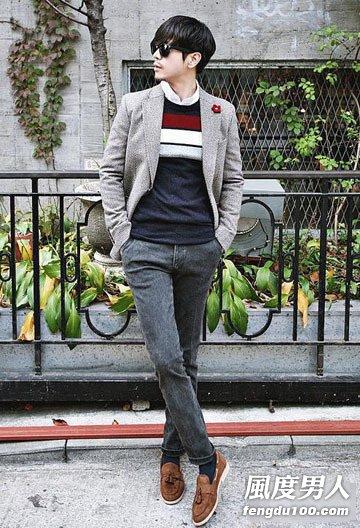 男士11月穿衣搭配 街头秀时尚元素(图)