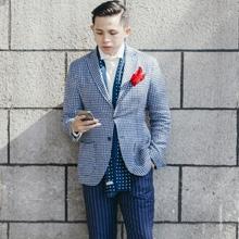春季型男街拍优雅绅士范儿打扮