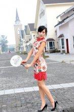 古典气质美女旗袍穿出东方韵味