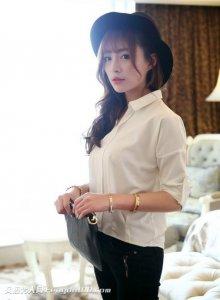 韩国美女主播都市女强人知性魅力