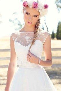 农场新娘唯美婚纱照 另一种美的诠释
