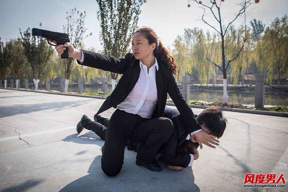 女保镖训练照片