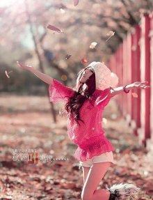冬季清纯气质美女写真 大众明星脸美女