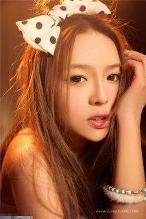 90后清纯可爱女生图片 少女的明星梦图片