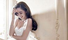 angelababy婚纱照 Angelababy时尚婚纱写真