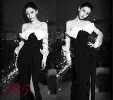 杨颖Angelababy妩媚又迷人黑白写真